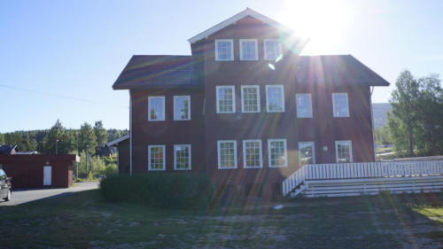 Hovedhuset på Marienlyst sett fra vest