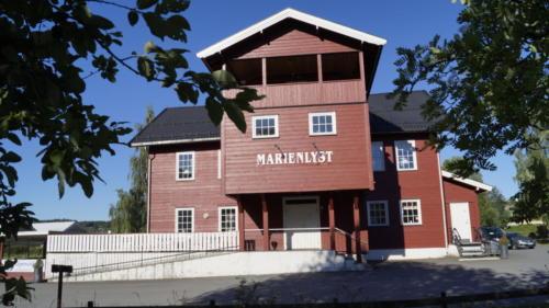 Hovedhuset på Marienlyst  Sommeren 2018